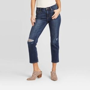Universal Threads || Straight Cropped Jeans NWT